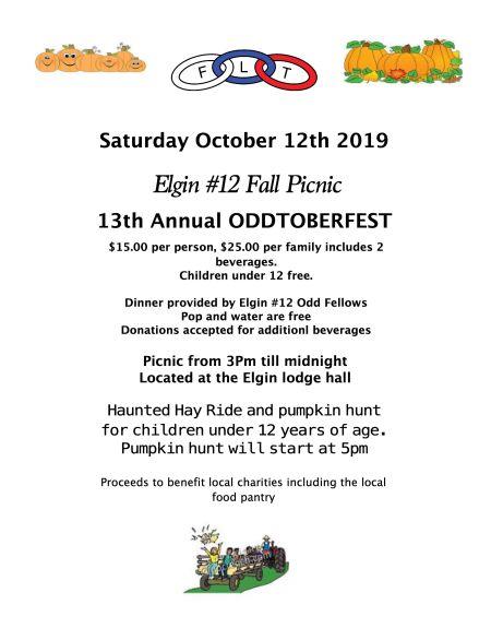 Elgin 2019 Oddtoberfest